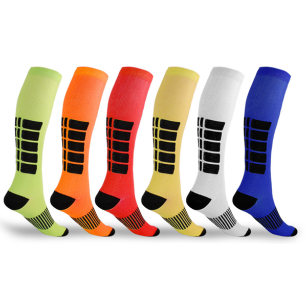 Mid-Calf Compression Socks for Men and Women 5-Pack