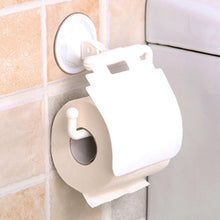 Load image into Gallery viewer, Wall Mounted Sucker Toilet Paper