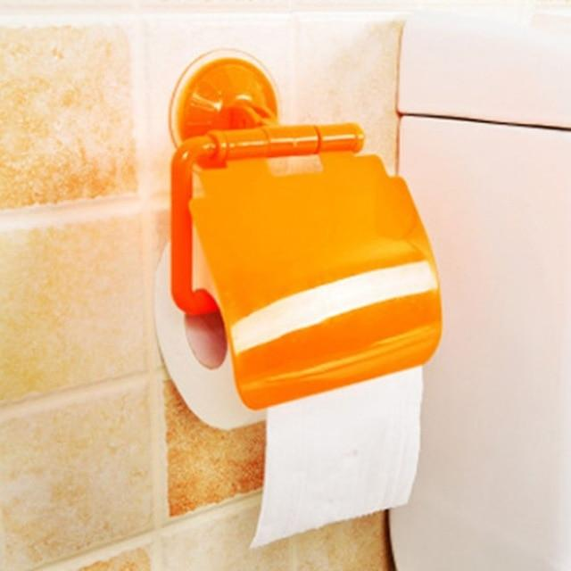 Wall Mounted Sucker Toilet Paper