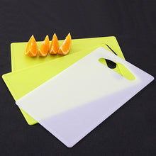 Load image into Gallery viewer, Plastic Non-slip chopping Cutting Board