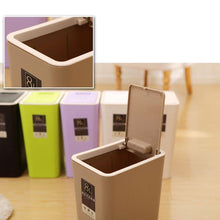 Load image into Gallery viewer, Modern Design 8L Plastic Trash Can