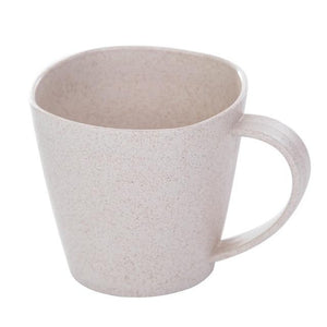 1Pc Healthy Wheat Straw Milk Cup