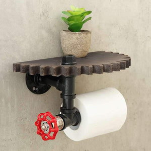 Retro Industrial Style Bathroom Toilet Paper