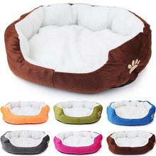 Load image into Gallery viewer, 20# Pet Product Winter Warm Dog Cat Puppy's Fashion Comfortable Soft Pad Bed Pet Cushion Mat Dog Supplies