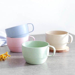 Wheat Straw kitchen Accessories  Milk Tea Cup