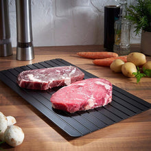 Load image into Gallery viewer, Fast Defrosting Meat Tray Chopping Board