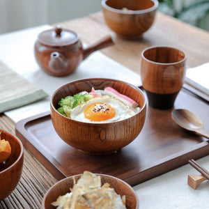 Japanese Style Salad Rice Noodles Bowls