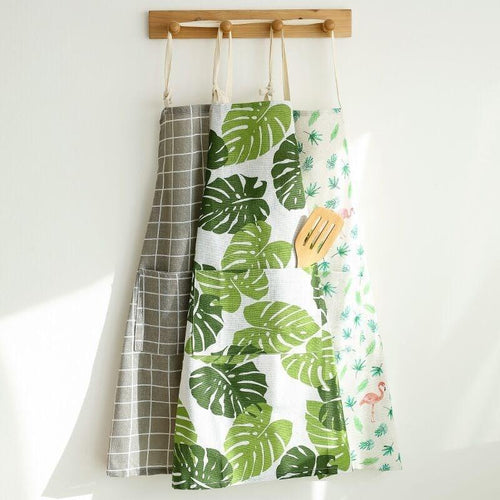 Nordic Style Apron Christmas Tree Deer