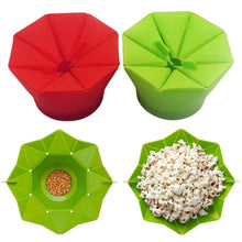 Load image into Gallery viewer, Kitchen Tool Silicone Popcorn bowl