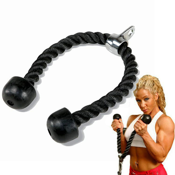Double Head Fitness Pull Rope