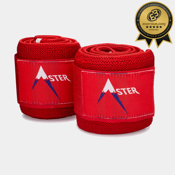 Aster Wrist Wraps - 34'' Premium Heavy Duty