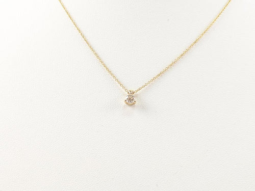 HEARTS ON FIRE PENDANT .25 CT. 18K Yellow Gold 2.6g