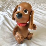 Rub-A-Dub Doggie Brown Bath Time Toy 1982