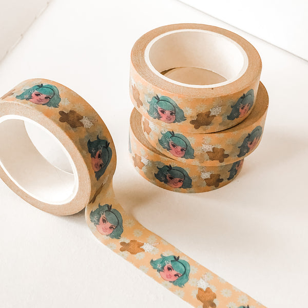 Taiyaki Time - Cute Washi Tape Stationery (15mm x 10 metres)