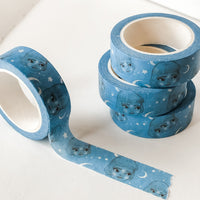 Brisbane Starry Night - Cute Washi Tape Stationery (15mm x 10 metres)