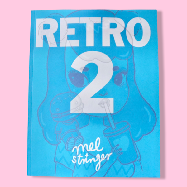 RETRO 2 - Art Book / Letter Size / 130 Page