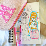 2 pack : Cute Baby Fountain Pens - clearance