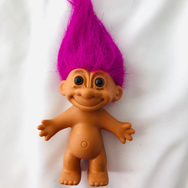 Vintage troll toy by Russ