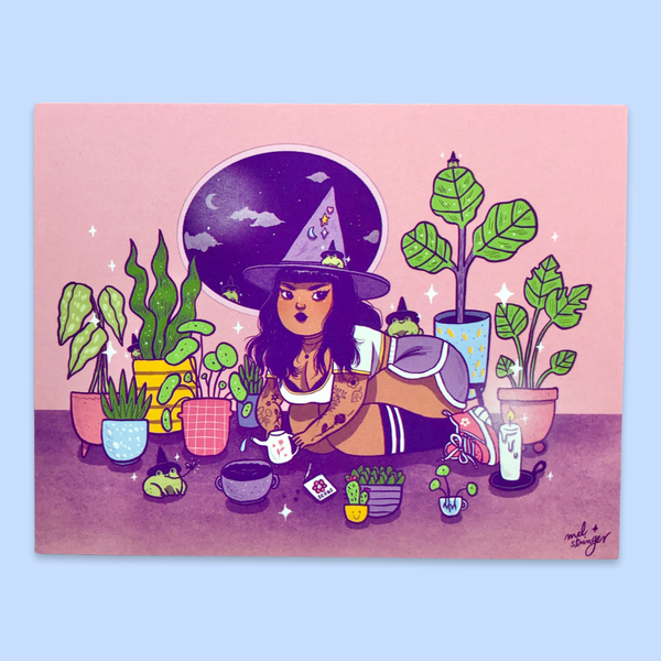 Plant Witch - mini print