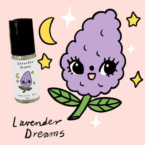 Lavender Dreams - 5ml perfume oil