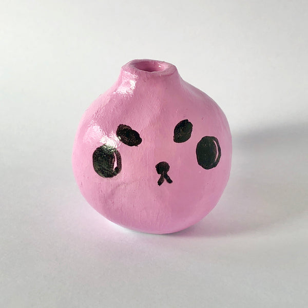#2 Angry Pup Mini Vase - 4.4cm tall