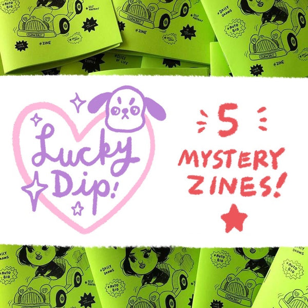 Lucky Dip : 5 Mystery Zines! (Clearance)