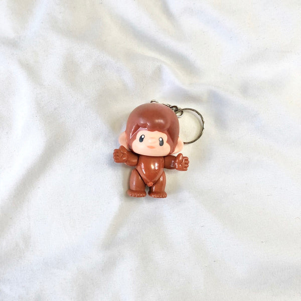 Bootleg Monchhichi Key Chain Collectible with Surprise Function!