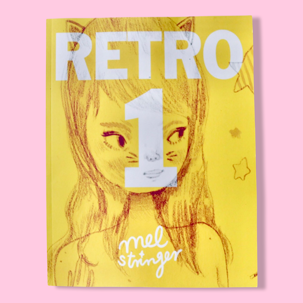 RETRO 1 - Art Book / Letter Size / 130 Page