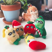 Christmas Yumkins plush ornaments toys
