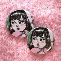 Love - 1.25 inch pin badge accessory