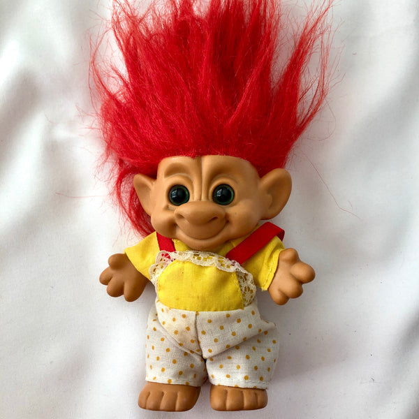 Rare vintage Forest Troll toy