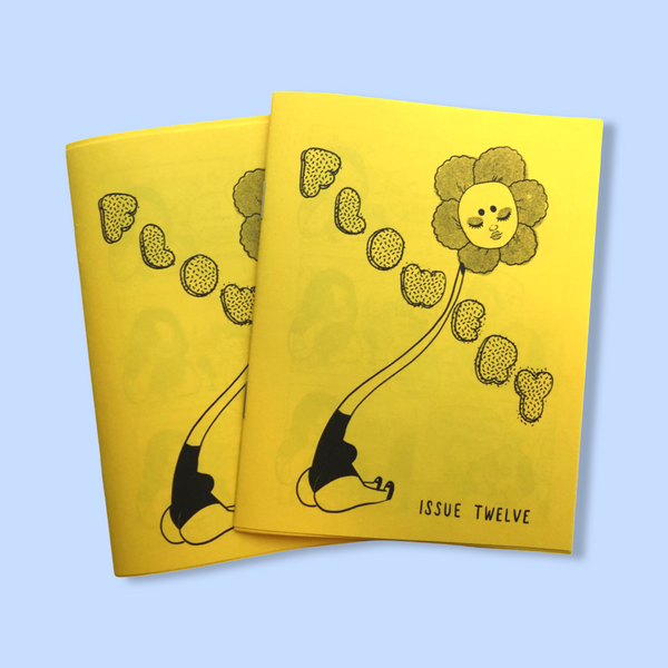 Flowery zine issue 12 - Yellow cover