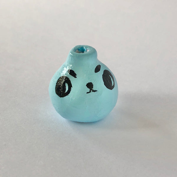 #12 Angry Pup Mini Vase - 2cm tall