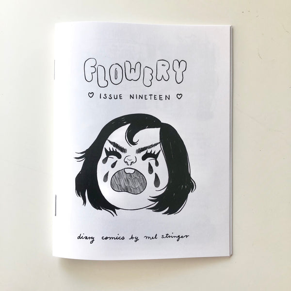 Flowery zine - issue 19