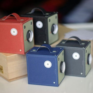 Vintage Box Cameras - Printable Papercraft
