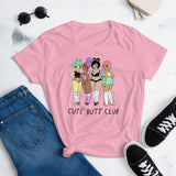 Cute Butt Club Girls - Women's Shirt