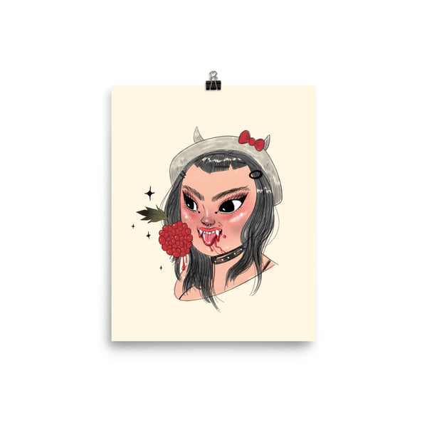 Berry Blood - Giclée Art Print