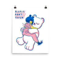 Please Don't Touch - Giclée Art Print