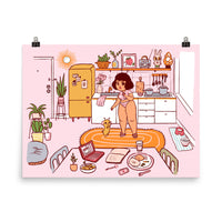 Home Sweet Home - Giclée Art Print