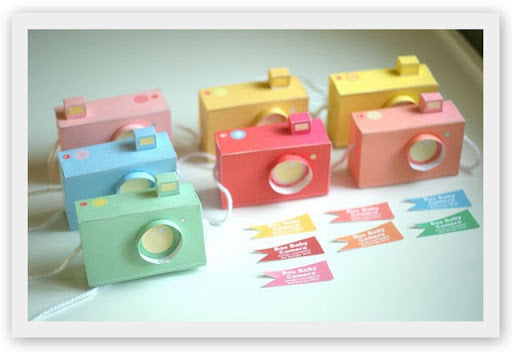 Baby Box Cameras - Printable Papercraft