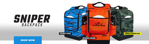 Dynamic Discs Sniper Backpack at Skybreed Discs
