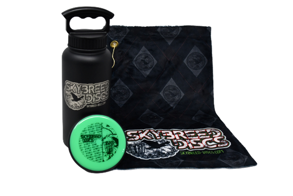 Skybreed Discs Water Bottle Bundle