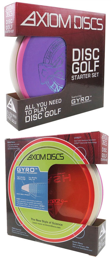Axiom Discs Disc Golf Starter Set