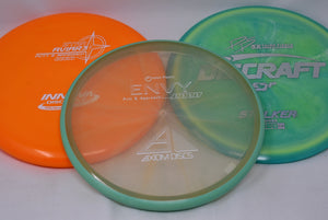 Skybreed Discs Premium 3-Pack Disc Golf Mystery Box