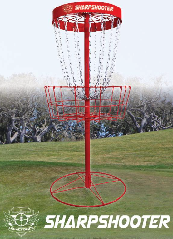 Legacy Discs Sharpshooter Portable Disc Golf Basket