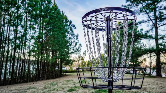 MVP Black Hole Lite Portable Disc Golf Basket