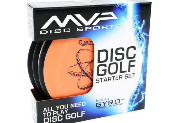 MVP Disc Sports Premium Disc Golf Starter Set