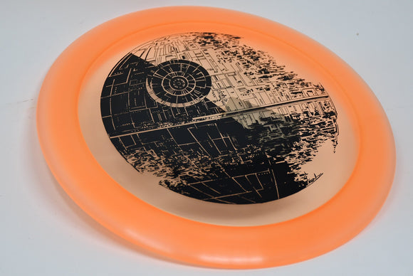 Buy Pink Orange Discraft Z Force Star Wars Death Star Distance Driver Disc Golf Disc (Frisbee Golf Disc) at Skybreed Discs Online Store