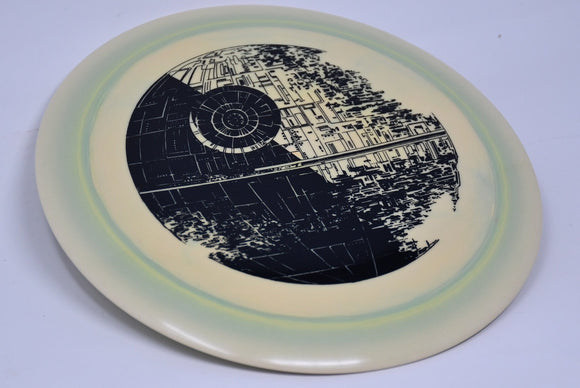 Buy Green Discraft ESP Force Star Wars Death Star Distance Driver Disc Golf Disc (Frisbee Golf Disc) at Skybreed Discs Online Store