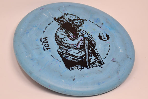Buy Blue Discraft Jawbreaker Challenger Star Wars Yoda Putt and Approach Disc Golf Disc (Frisbee Golf Disc) at Skybreed Discs Online Store